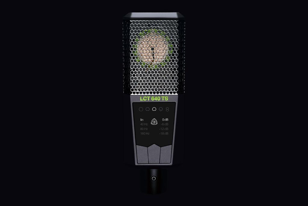 Lewitt introduceert de nieuwe LCT640 TS, een dubbel diafragma studio microfoon