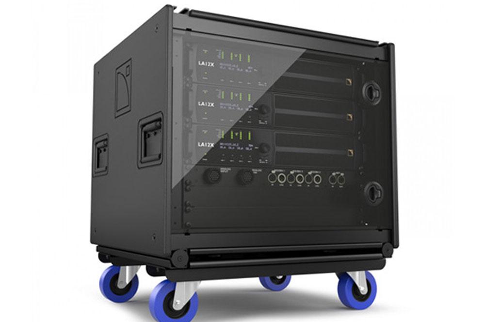 L-Acoustics LA-RAK II, het meest complete amplified controller rack.