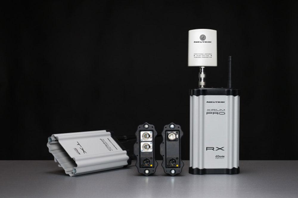 Neutrik Xirium Pro, een stap voorwaarts in draadloze digitale audiodistributie.