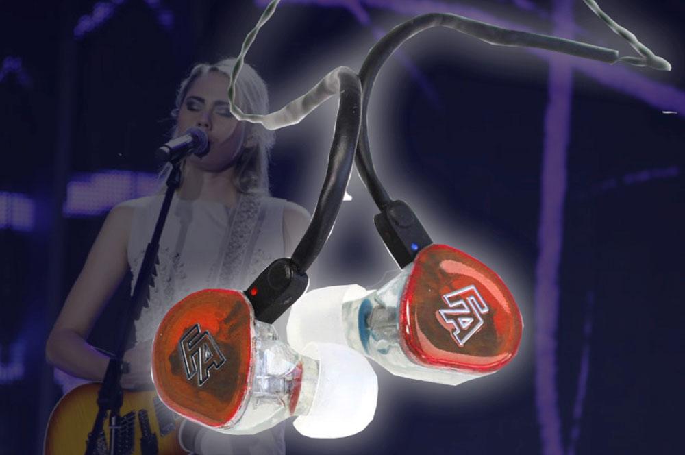 Rhapsody, de beste universal fit oortelefoons van Fisher Amps. Eenvoudig maar briljant!