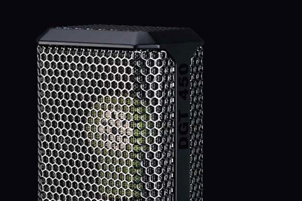 Lewitt DGT450 digitale opname microfoon/studio voor iOS, Mac en PC