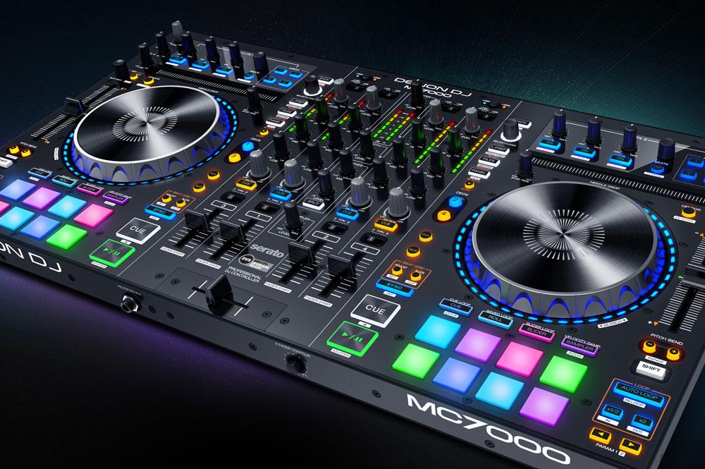 De nieuwe Denon MC7000 Controller met Serato compatibilteit
