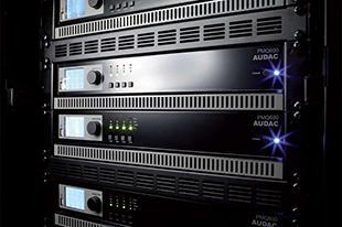 Audac PMQ WaveDynamics quad-channel 100V Eindversterkers