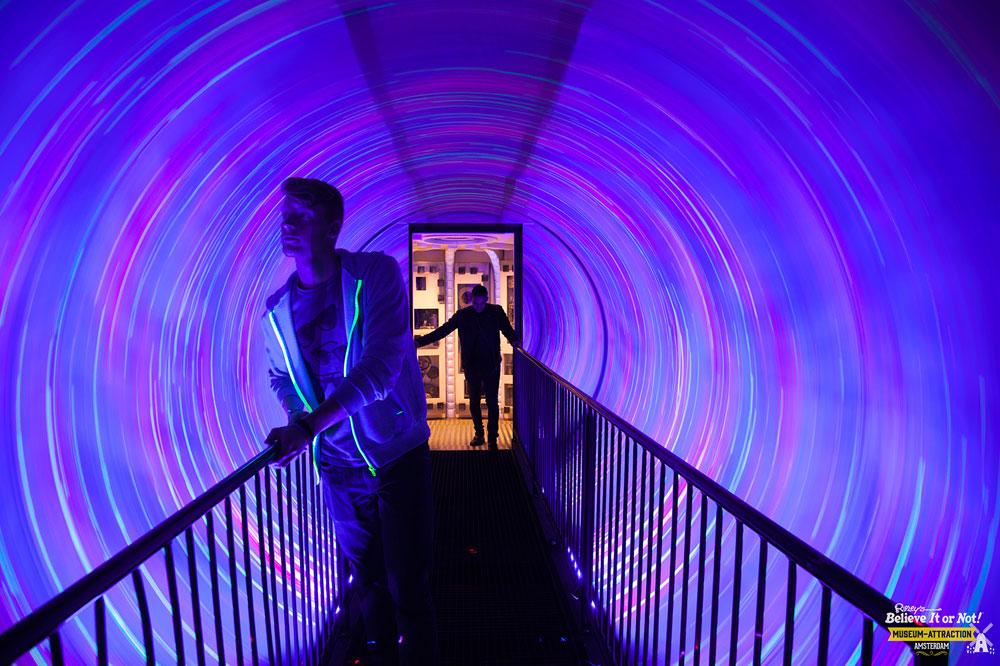 Ripley's 'Believe it or not' Museum Attraction Amsterdam met Audac audiosysteem