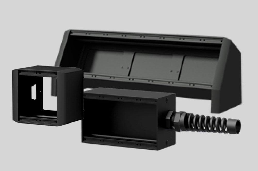Nieuwe Caymon CASY wand- en tafel- stageboxen