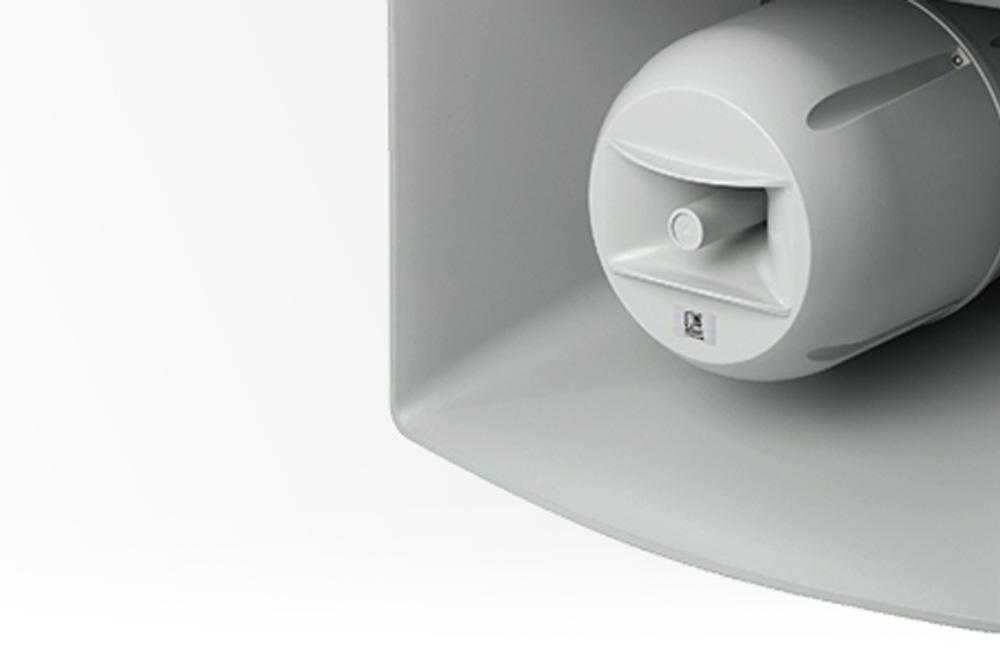 AUDAC CHA530/660 hoorn luidspeakers, voor kristalheldere aankondiging