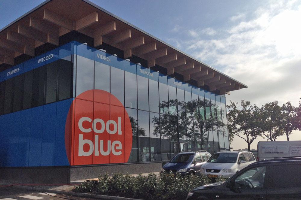 Audac in CoolBlue Distributiecentrum Tilburg