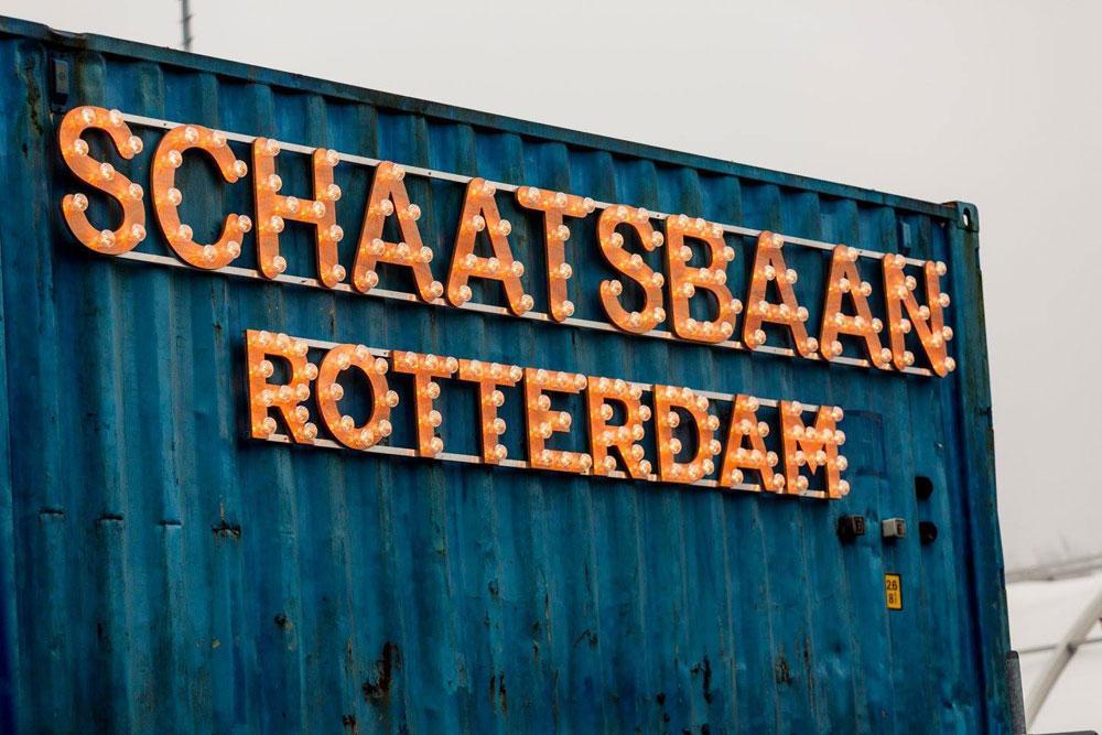 AUDAC WX outdoor serie bij Schaatsbaan Rotterdam