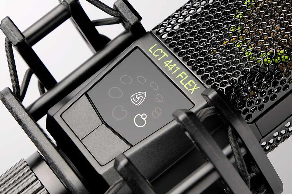 Lewitt LCT441 FLEX studiomicrofoon, pure klank vanuit ieder perspectief