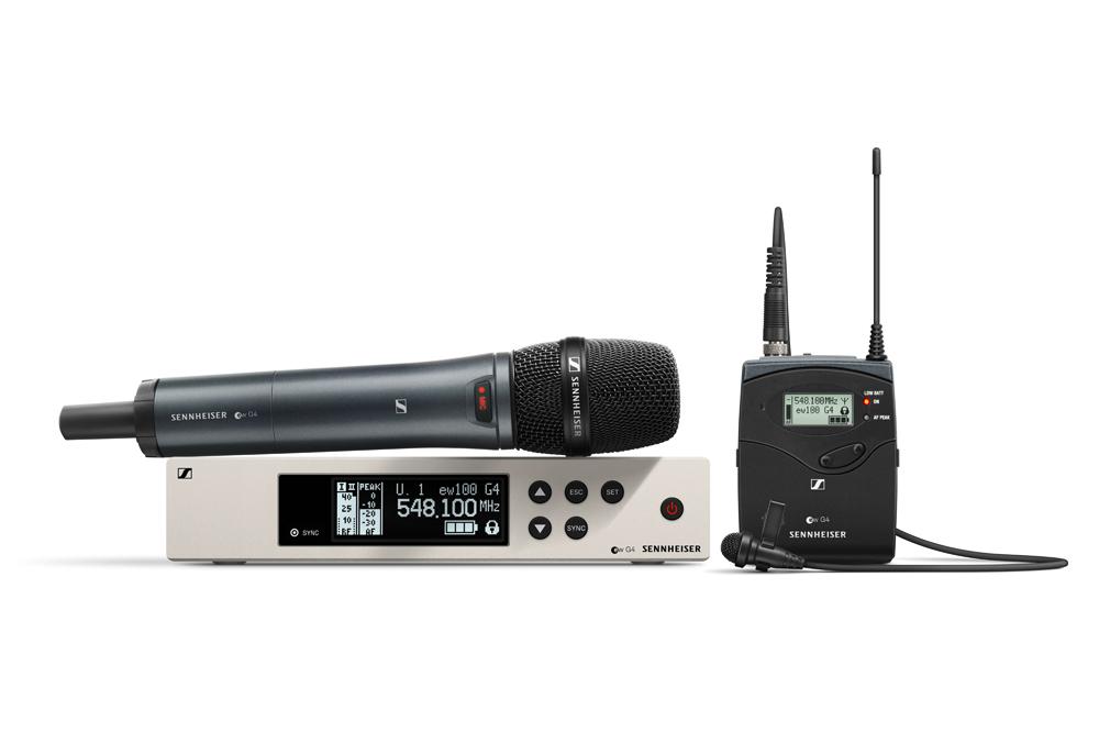 Sennheiser kondigt Evolution Wireless G4 aan