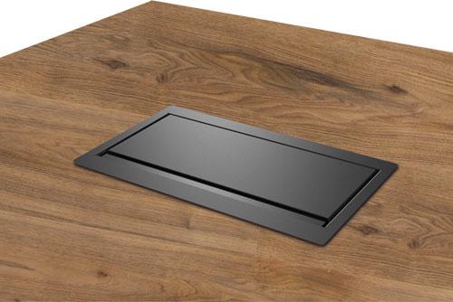 Caymon CASY028, inbouw aansluitpaneel voor alle types tafelbladen