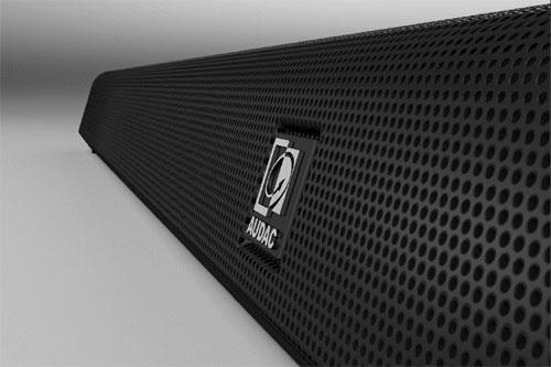 AUDAC IMEO1 Soundbar, omdat ook je oren HD kwaliteit verdienen