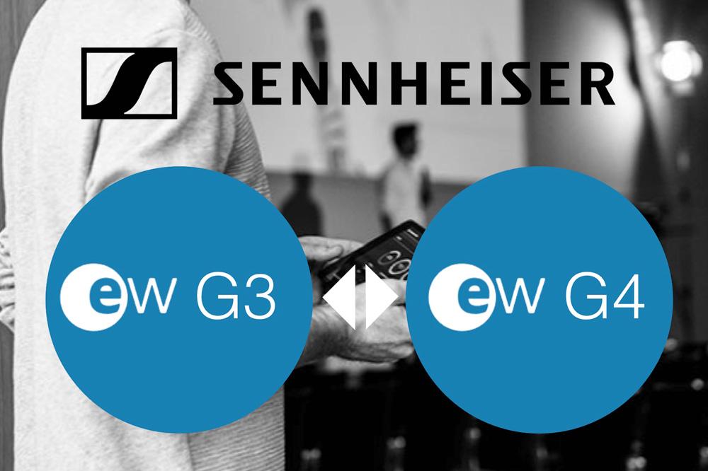 De verschillen tussen Sennheiser EW-G3 en EW-G4 draadloze systemen