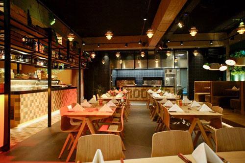 L-Acoustics 5XT/SYVA installatie voor Rodizio Brazillian Grill Restaurant Rotterdam