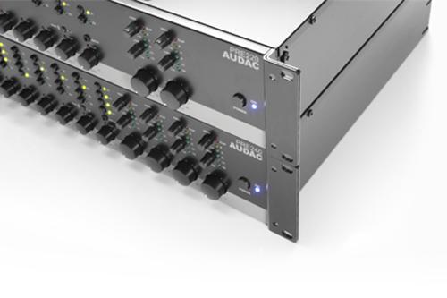 AUDAC PRE220/240, stereo zone-preamps met meer dan voldoende ingangen
