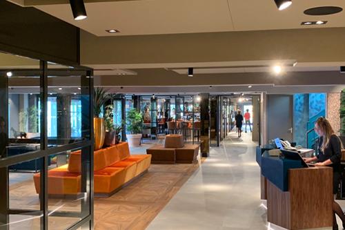AUDAC installatie in het Carlton President Hotel in Utrecht