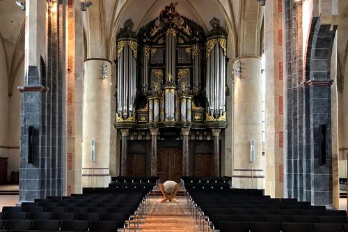 L-Acoustics Syva in de Martinikerk in Groningen