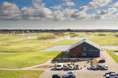 Geluidsinstallatie voor brasserie/restaurant Golfbaan Spierdijk