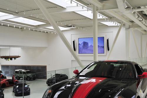 FBT voor exclusieve showroom van Autotron Exclusive in Rosmalen