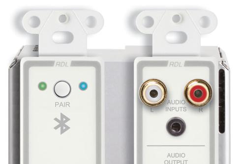 RDL Bi-directionele line-level en Bluetooth Dante audio interfaces