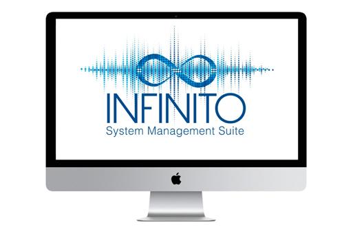 FBT Infinito, netwerk audio control software