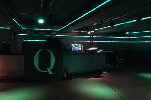 AUDAC installatie voor Dixokelder studentenvereniging Quintus in Leiden