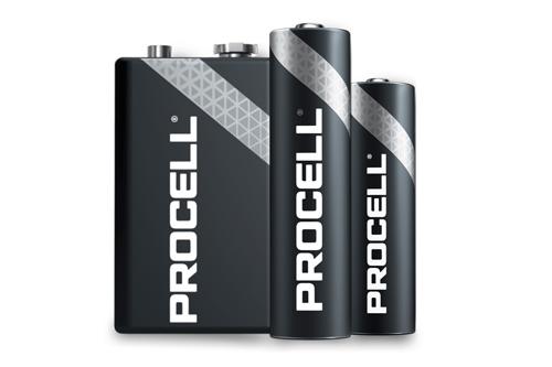 Duracell vernieuwt de Industrial serie batterijen en introduceert Procell