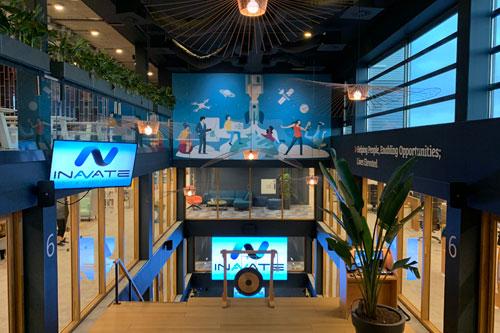 Auditorium TOPdesk Nederland voorzien van videowall en AUDAC geluidssysteem