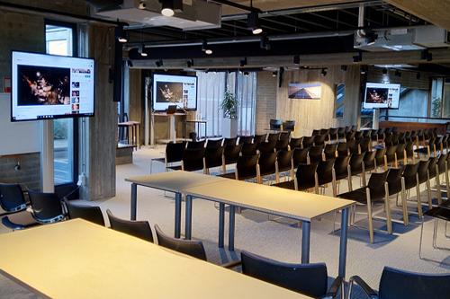 Werken en vergaderen met AUDAC geluid bij De Steck in Doetinchem