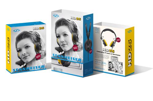 Promotie Sennheiser HD25 en HD280 DJ Hoofdtelefoons