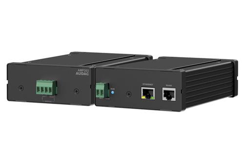 AUDAC AMP203, Dante/Web-Based netwerk mini versterker