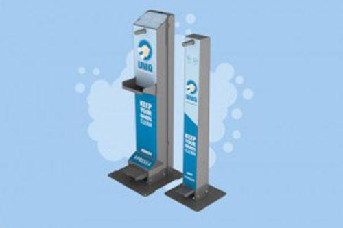 UNIQ Foam Dispensers, snel en effectief handen desinfecteren