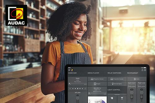 Nieuwe Software releases AUDAC Touch, AMP203 en Dante Firmware