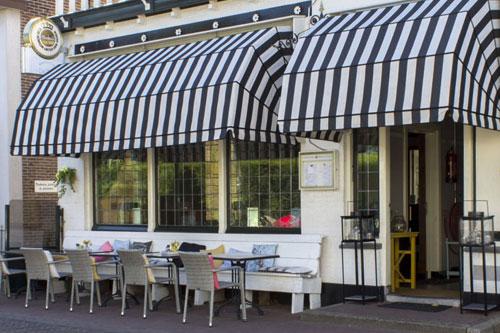 AUDAC geluidsinstallatie voor Restaurant Bistro La Croûte in Warmond