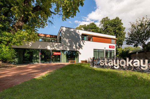 Nieuwe centraal AUDAC geluidssysteem bij Stayokay Hostel Maastricht