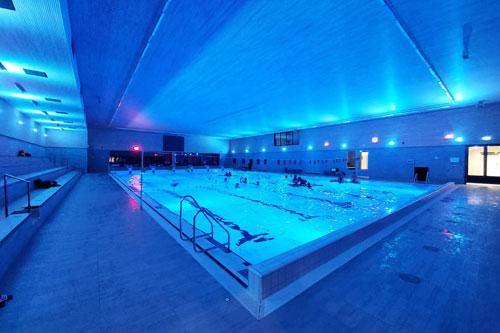 Sportcomplex Aquapelle voorzien van AUDAC geluid