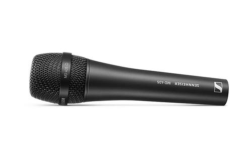 Nieuwe Sennheiser MD435 en MD445 dynamische microfoons
