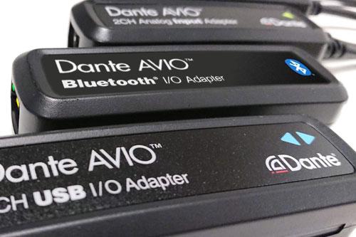 Nieuwe Dante AVIO adapters met Bluetooth en USB-C aansluiting