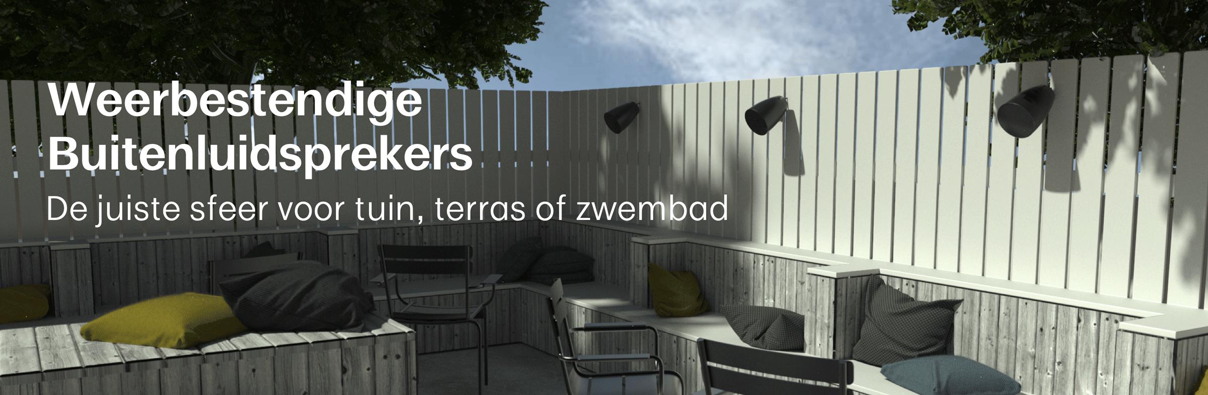 weerbestendige en outdoor luidsprekers