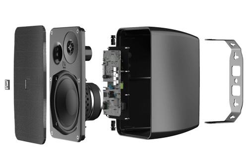AUDAC ARES5A 2-Weg Stereo Actief Luidsprekersysteem