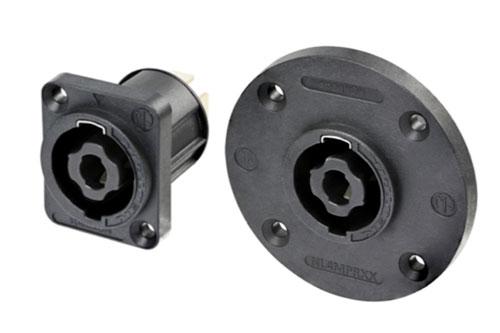 Nieuwe modellen Neutrik speakON chassisdelen