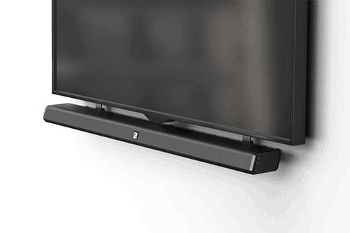 AUDAC IMEO2 3-weg soundbar, HD kwaliteit voor oog en oor