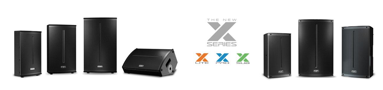 FBT XPro X-Lite en X-SUB luidsprekers